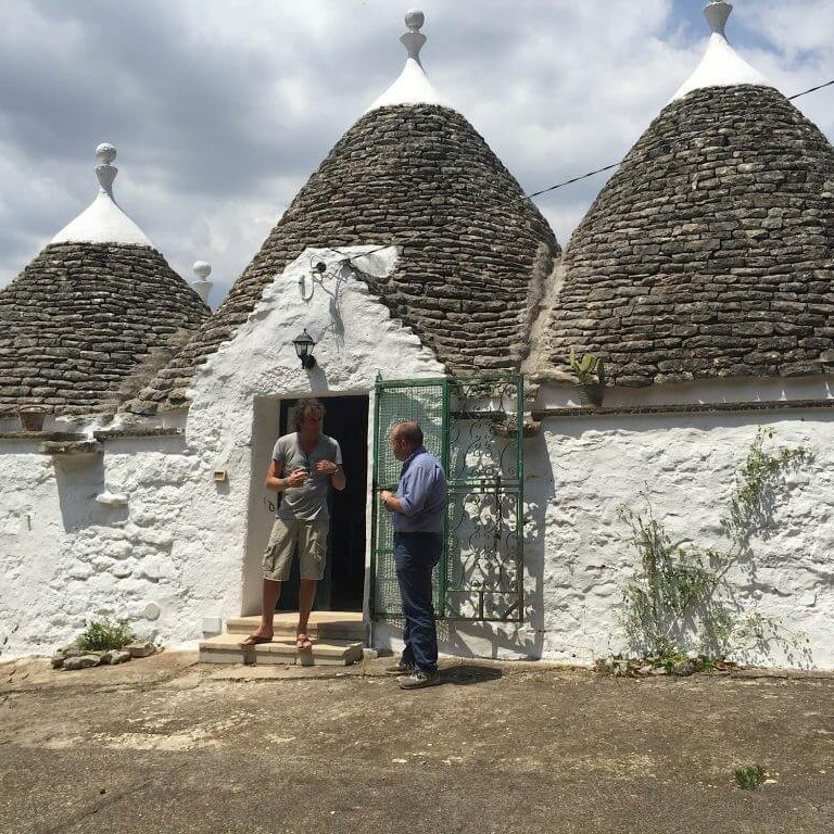 Have we found the trullo for our Italian Bed & Breakfast?